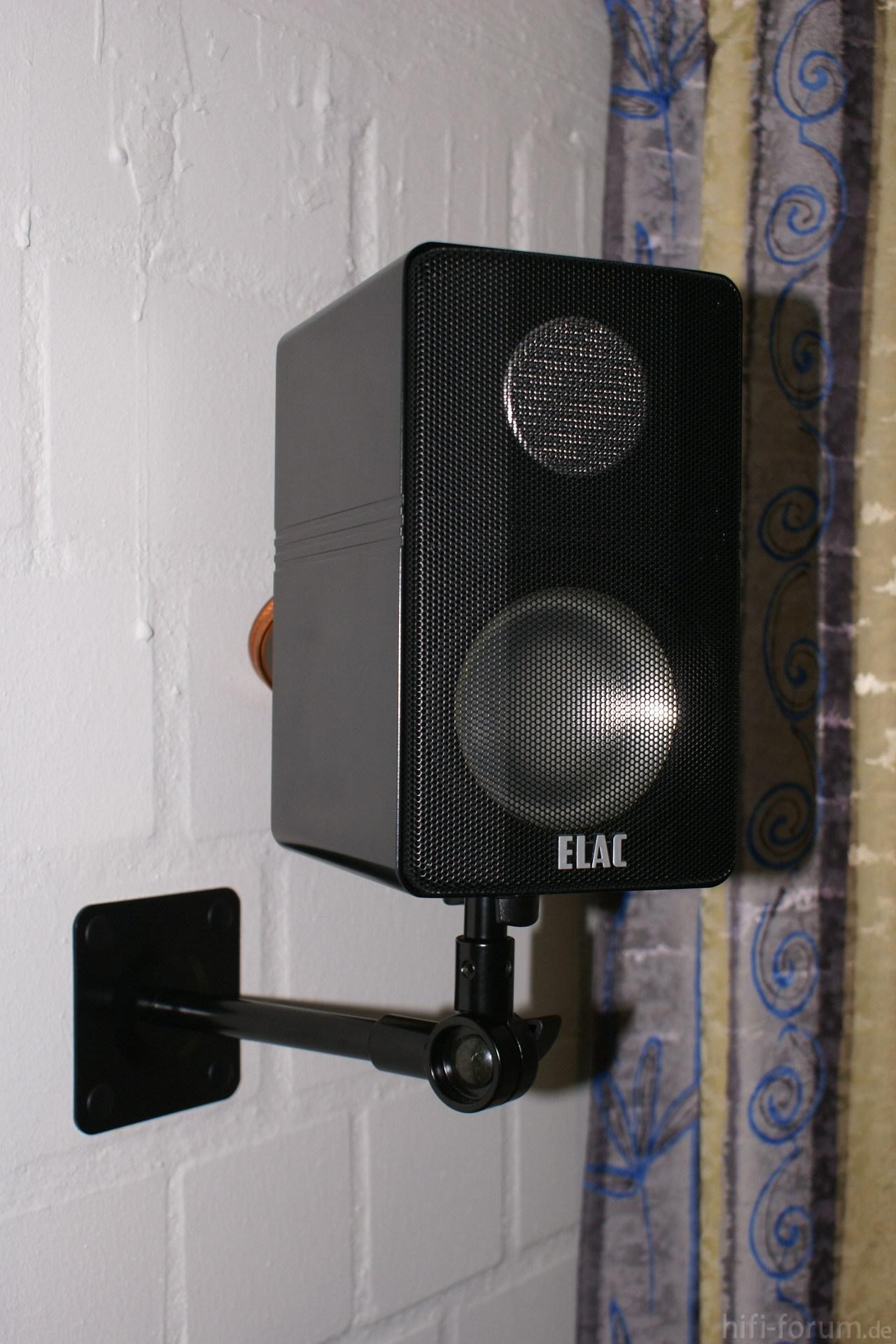 Elac dipol 60 4 dipol dipole elac heimkino surround wandhalterung hifi - Hifi wandhalterung ...