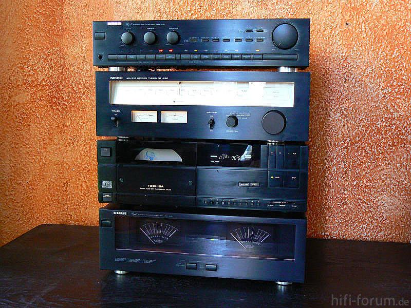 eine meiner sch nsten mischmasch anlagen hifiklassiker stereo hifi bildergalerie. Black Bedroom Furniture Sets. Home Design Ideas