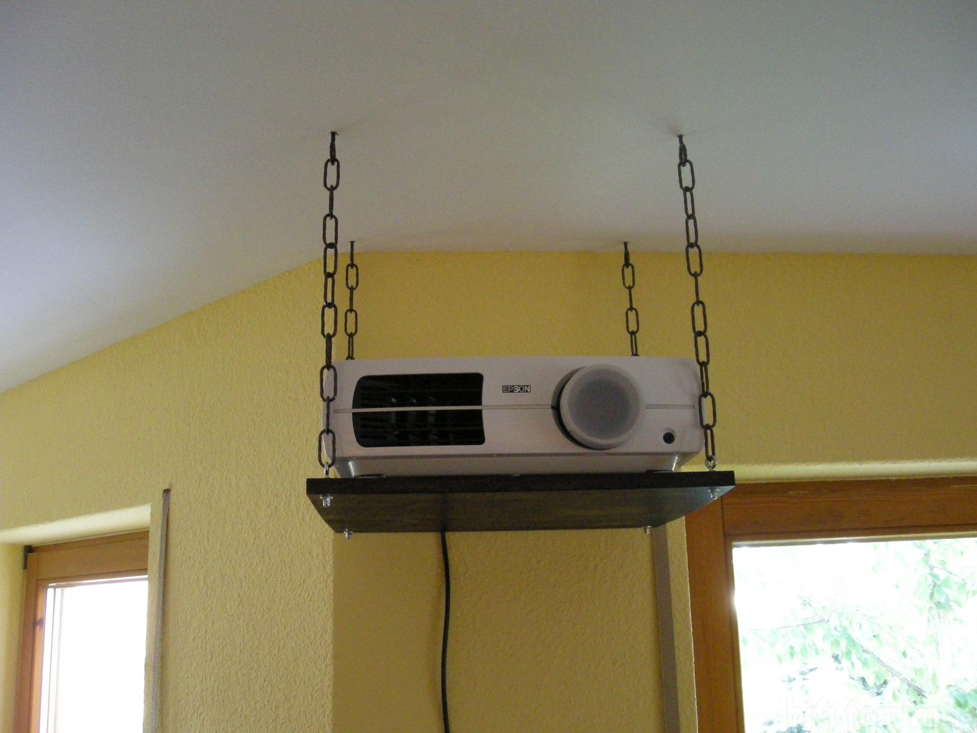 Beamerhalterung eigenbau beamer beamerhalterung - Tv halterung selber bauen ...
