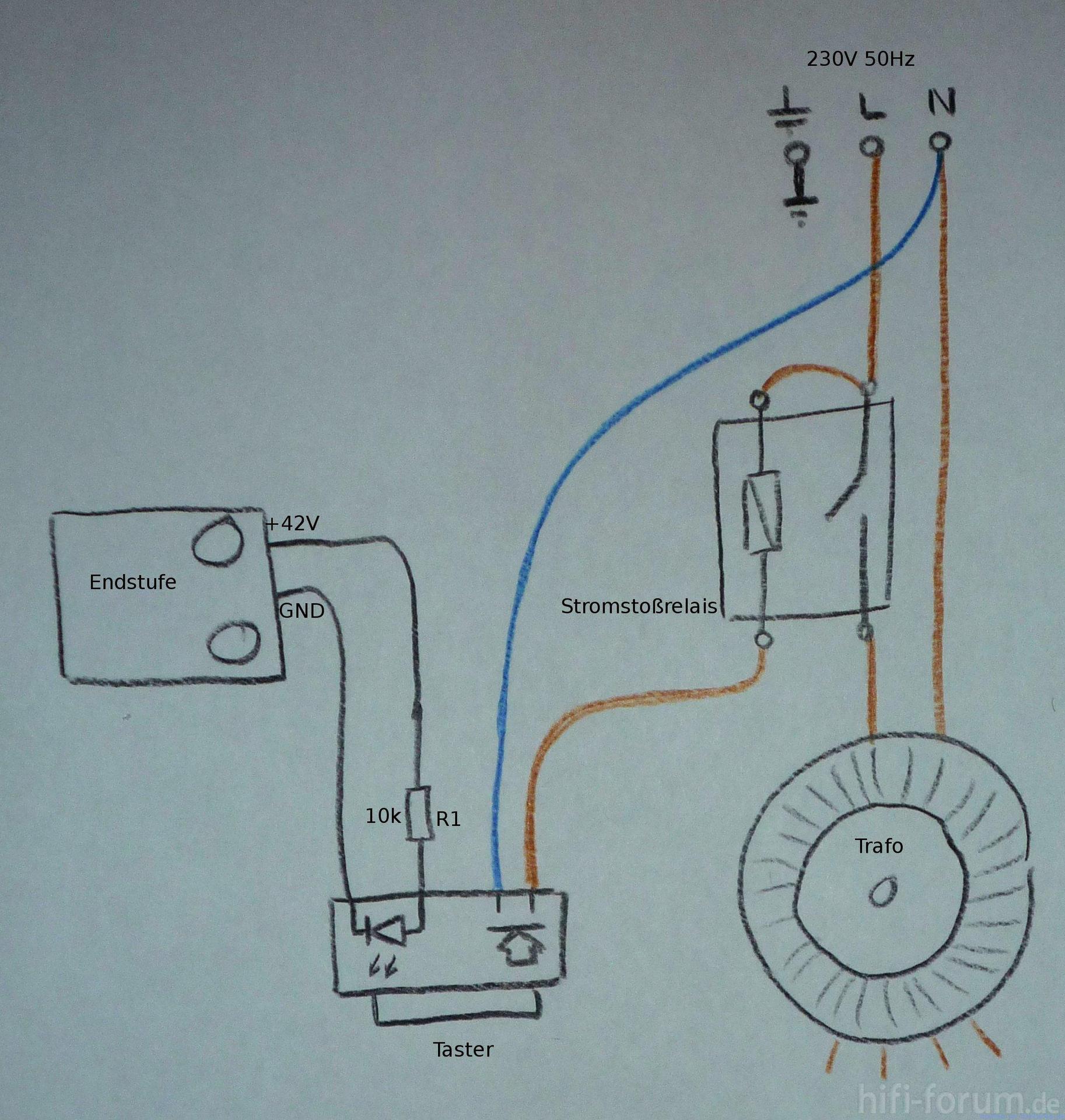 Stromstoßrelais verdrahtung | stromstoßrelais, verdrahtung | hifi ...