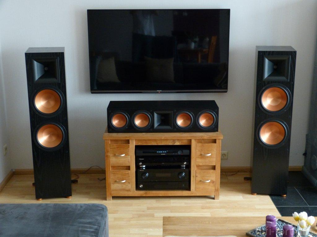 rf7 ii mit rc 64 ii ii lautsprecher rc64 rf7 stereo hifi bildergalerie. Black Bedroom Furniture Sets. Home Design Ideas