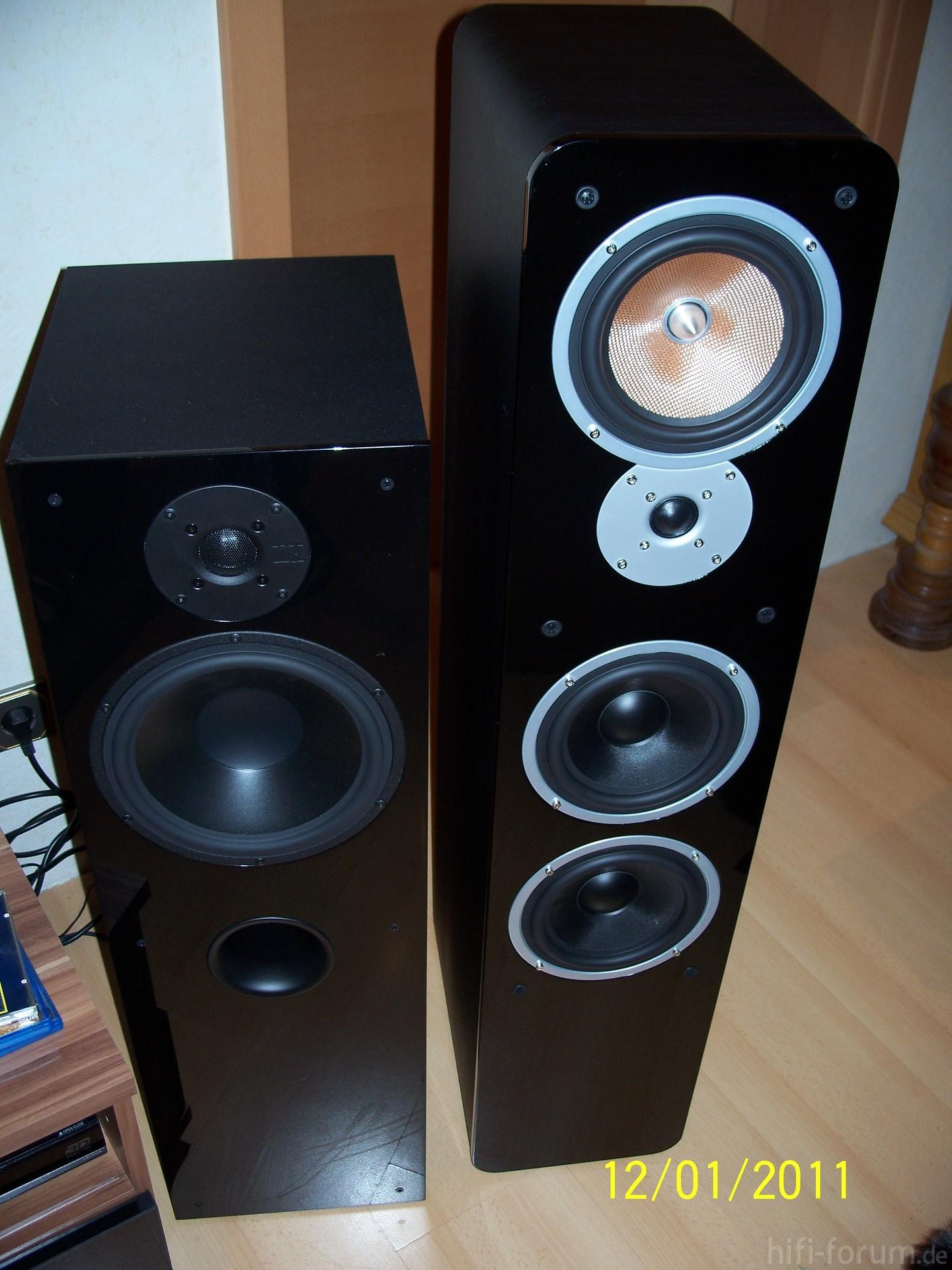 nubox 481 und ultima 40 lautsprecher nubox stereo ultima hifi bildergalerie. Black Bedroom Furniture Sets. Home Design Ideas