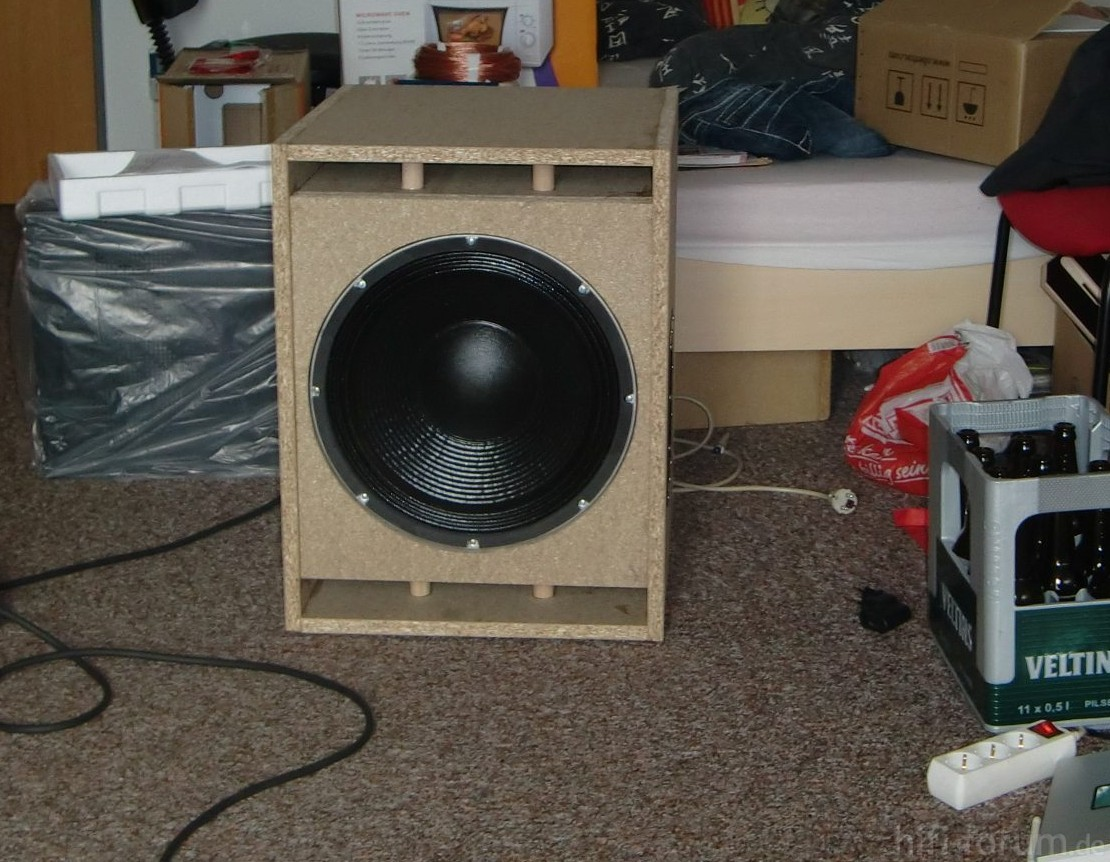 kleine party subwoofer doityourself kleine party. Black Bedroom Furniture Sets. Home Design Ideas