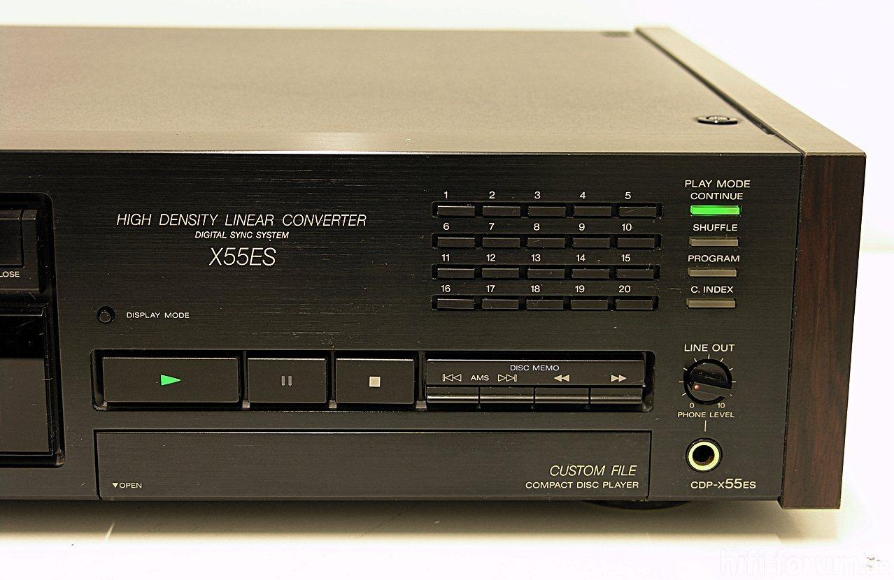 Angemessen Sony Cdp-x222es Cd-player StraßEnpreis Cd-player & -recorder