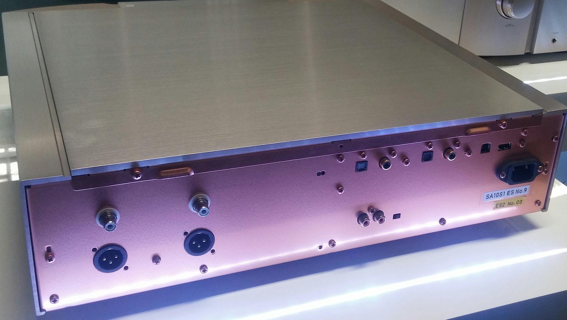 Marantz SA-10 back | back, elektronik, marantz, sa10, stereo | hifi