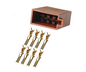 dietz 8 pol iso ls stecker mit kontakten 18175 hifi bildergalerie. Black Bedroom Furniture Sets. Home Design Ideas