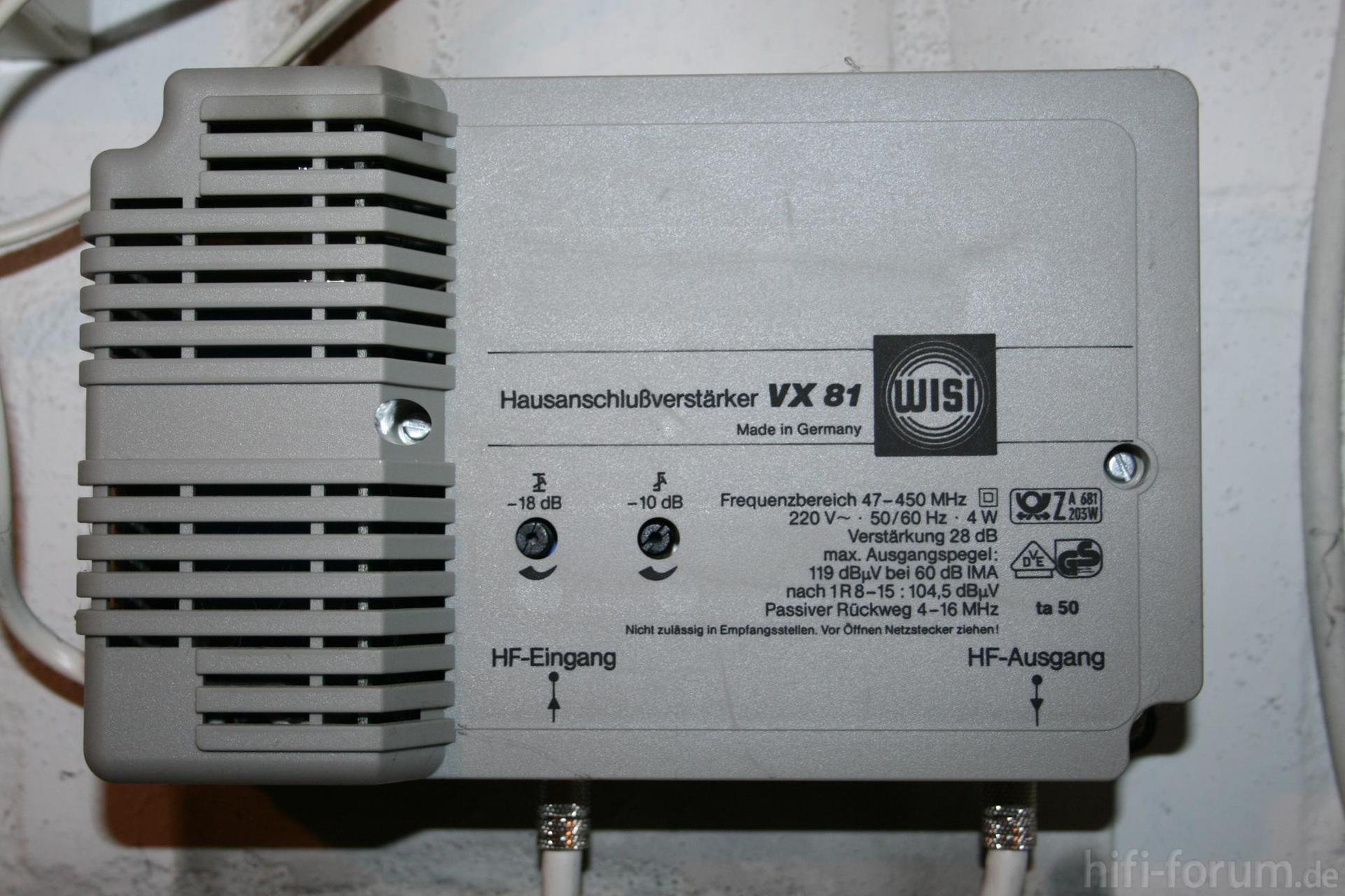 Frage zu Hausverkabelung DVB-C, Kabel (analog, DVB-C) - HIFI-FORUM