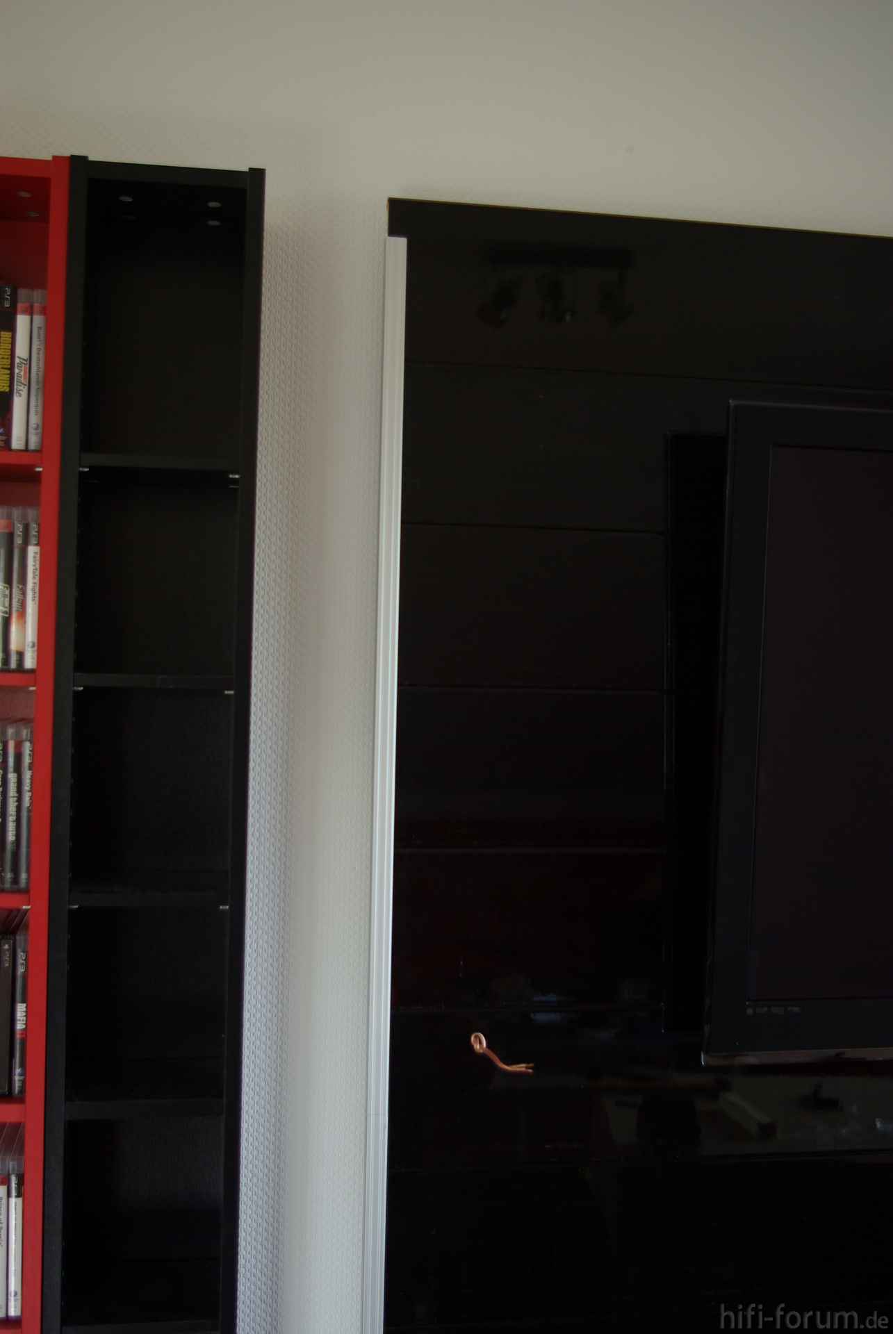 Tv Wand Montage Abschlussleiste Doityourself Tvwand