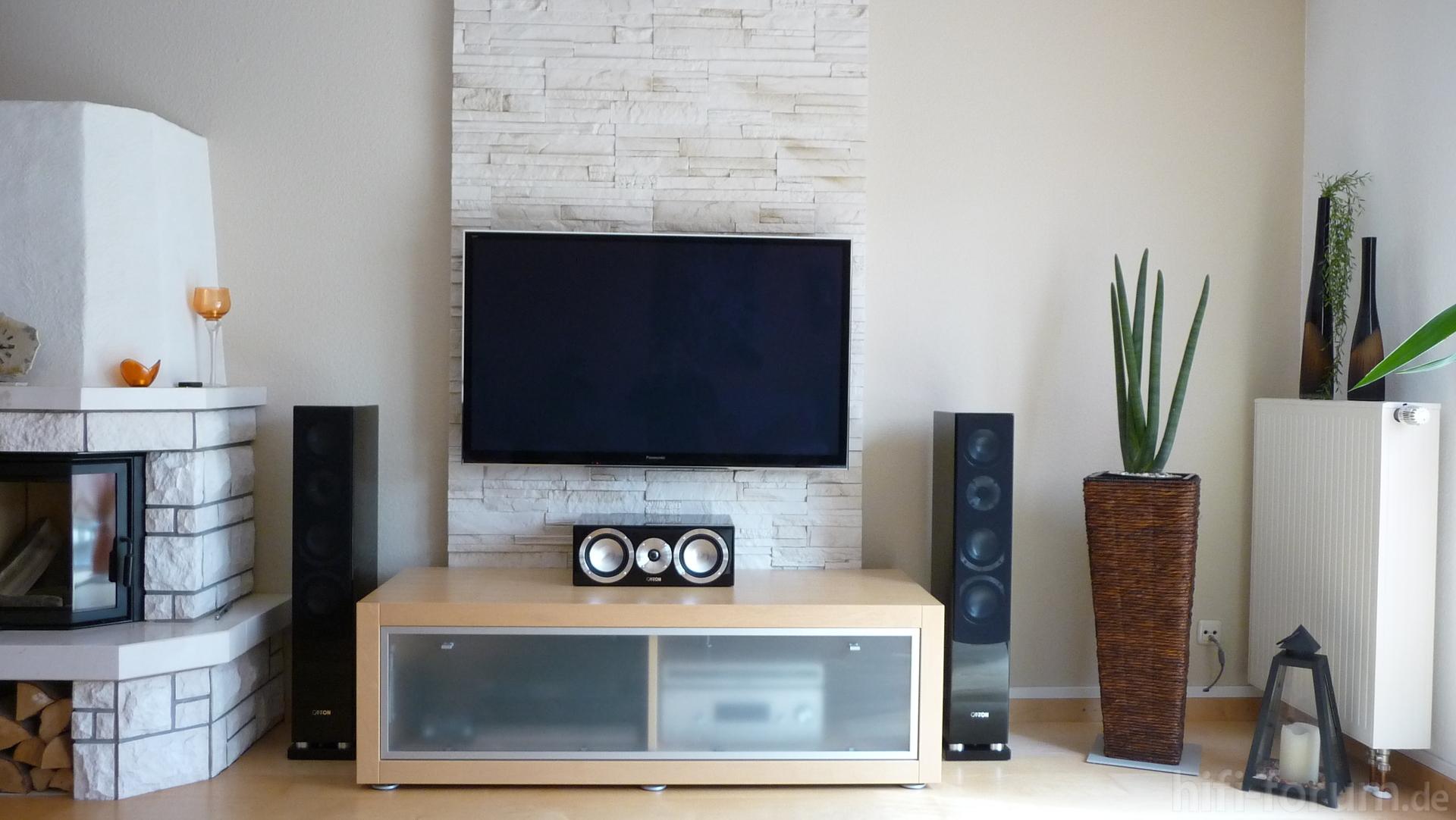steinwand wohnzimmer hifi 2 images steinwand tapete. Black Bedroom Furniture Sets. Home Design Ideas