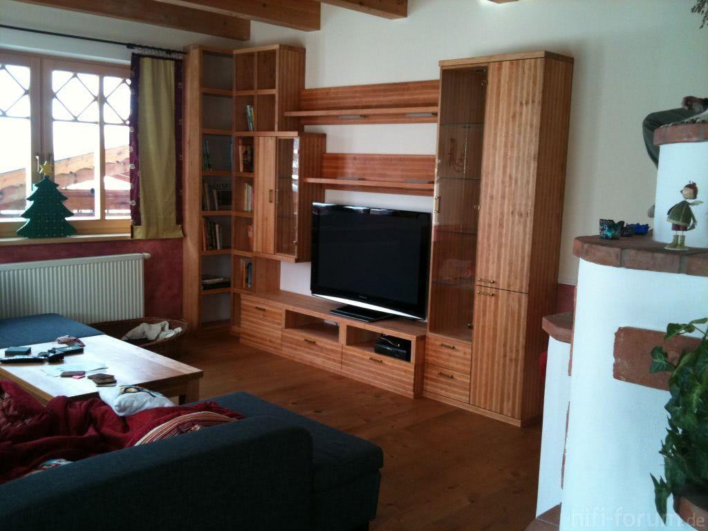 Wohnwand heimkino lautsprecher surround wohnwand for Bilder wohnwand