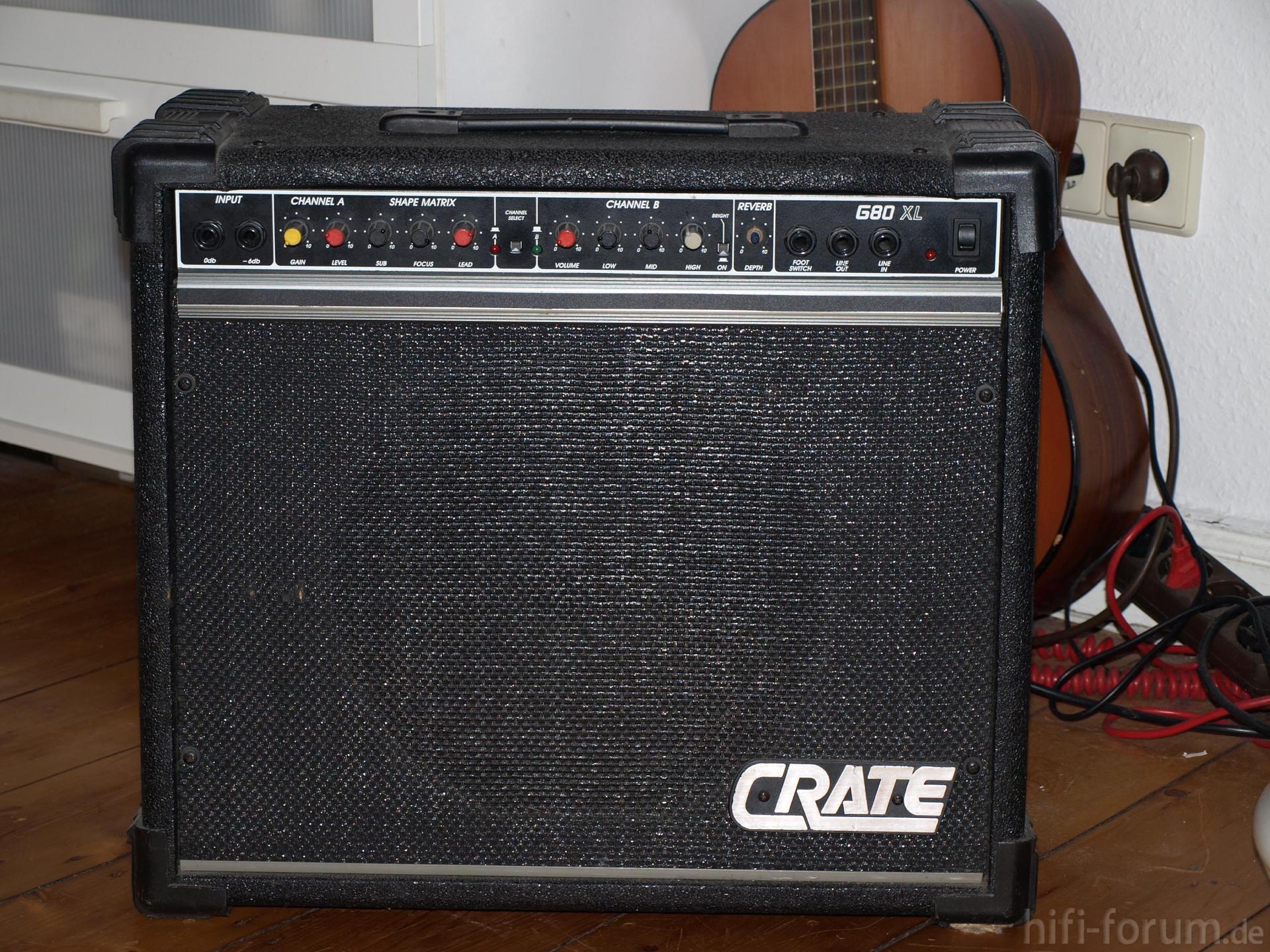 crate gitarrenverst rker hifi bildergalerie. Black Bedroom Furniture Sets. Home Design Ideas