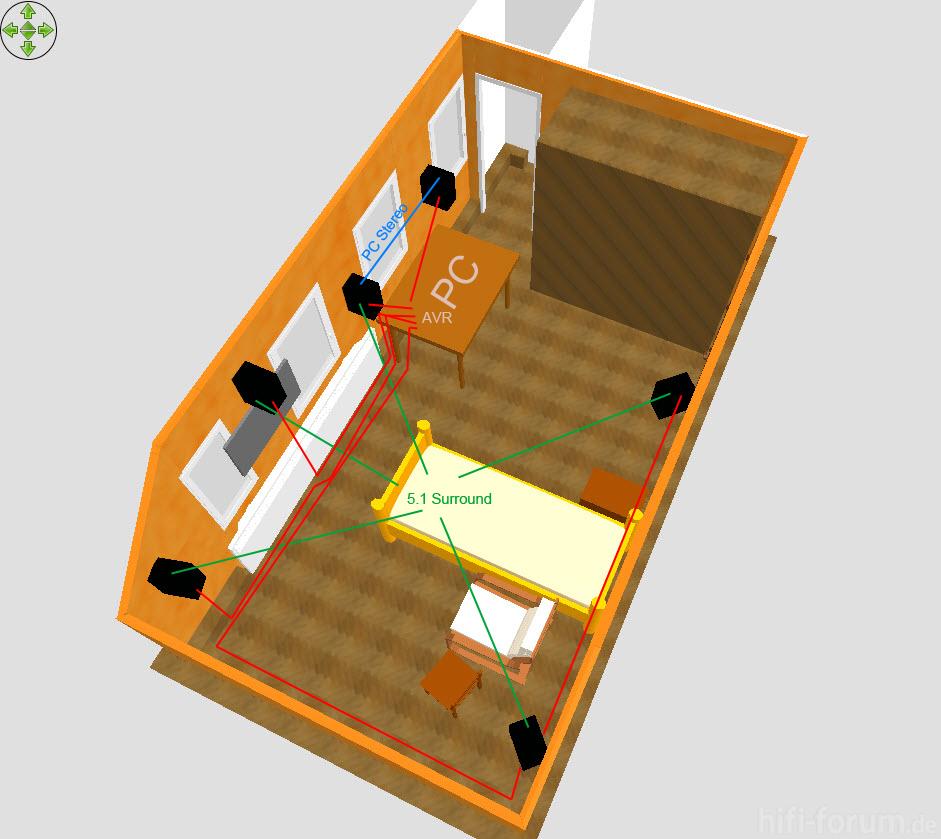 zimmer mit led tv an der wand led tv wand zimmer hifi bildergalerie. Black Bedroom Furniture Sets. Home Design Ideas