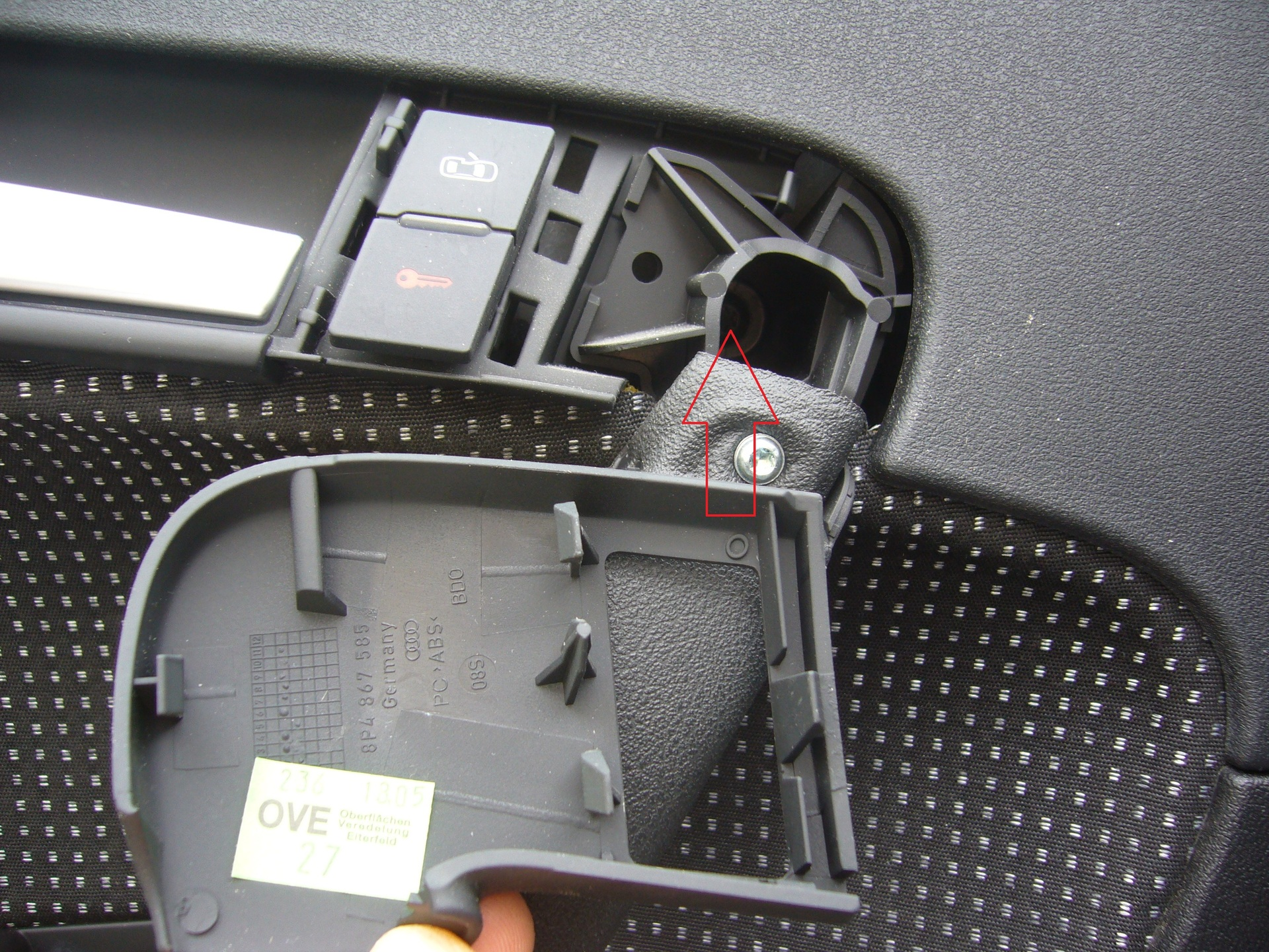 Demontage T 252 Rverkleidung Audi A3 8p Sportback 8p A3
