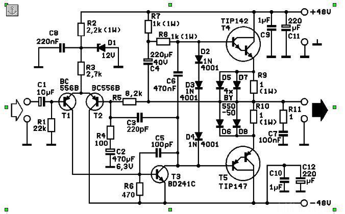 Selbstbau Verstärker 2*200 Watt, Elektronik - HIFI-FORUM