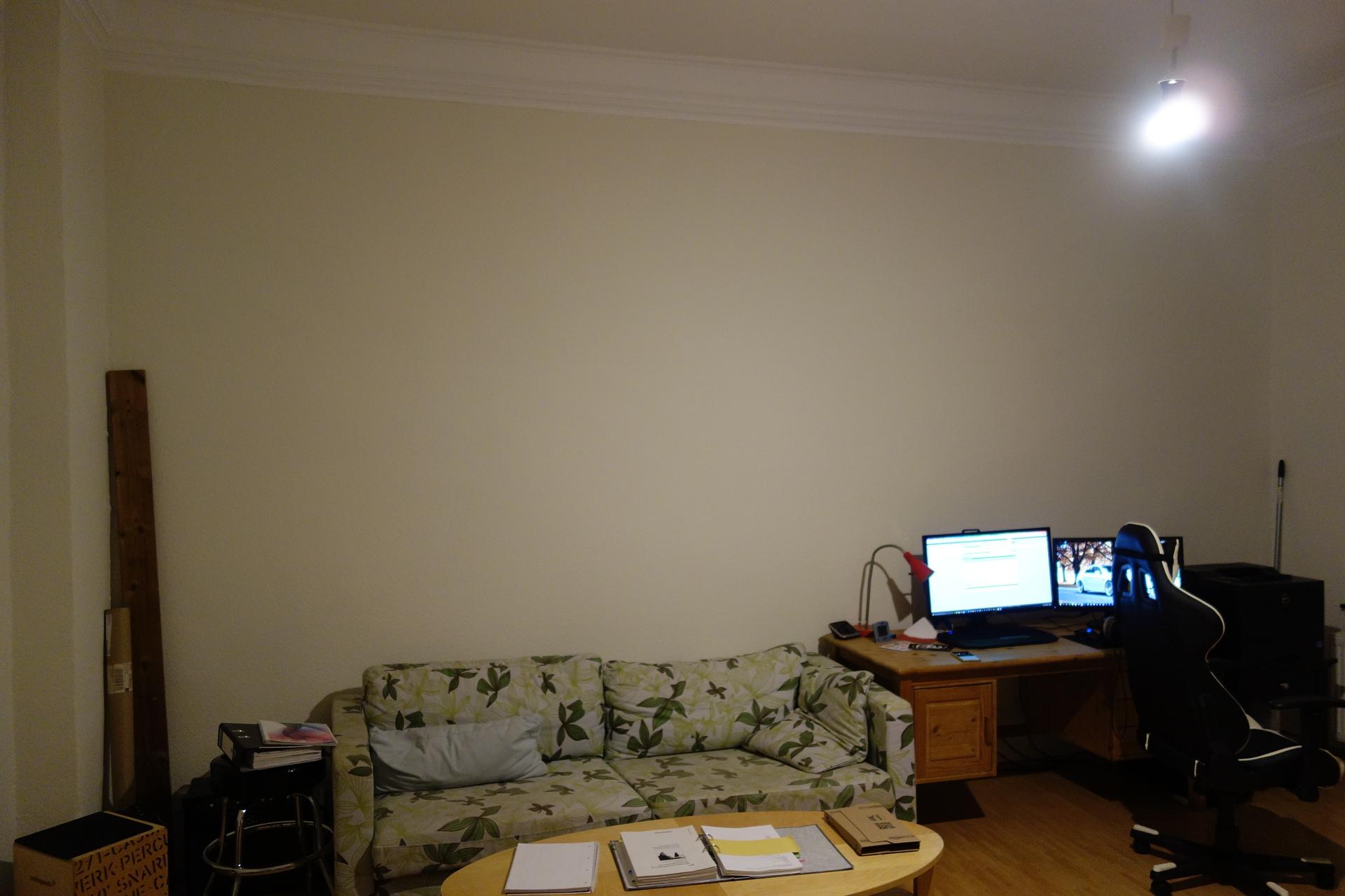 Wand f r leinwand beamer leinwand tv wand hifi bildergalerie - Leinwand fur wohnzimmer ...