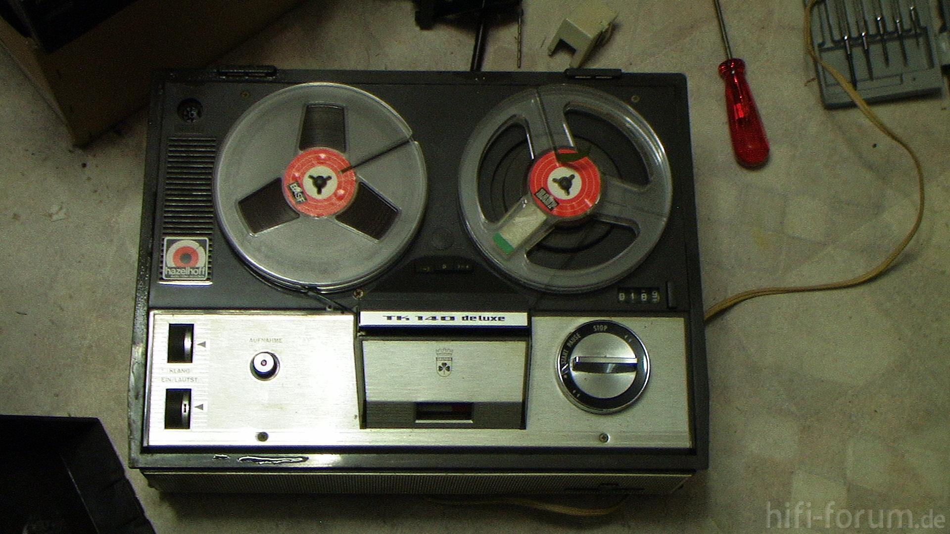 Grundig Tk140 Deluxe Tonbandger U00e4t