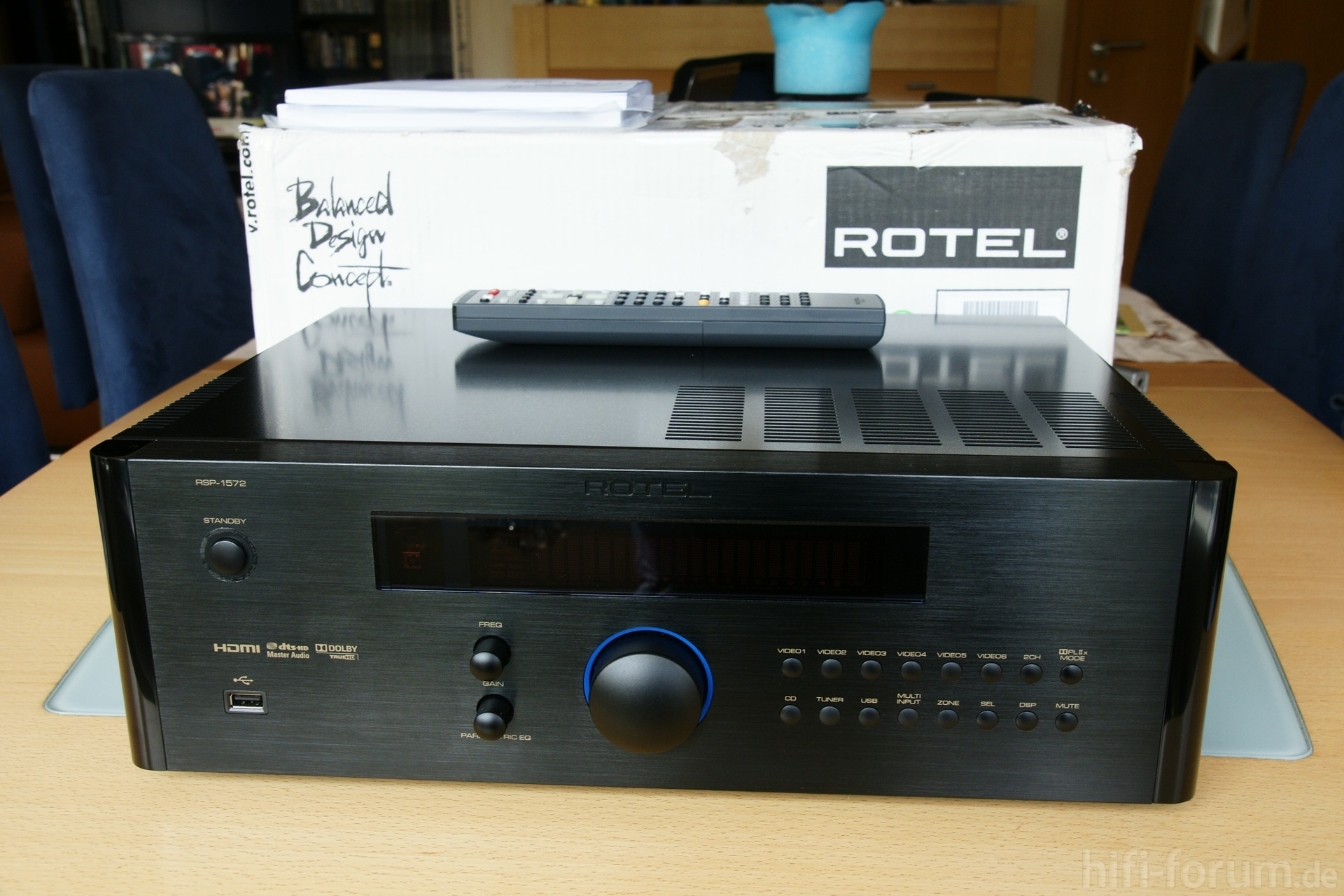 how to update rotel rsp 1572 firmware