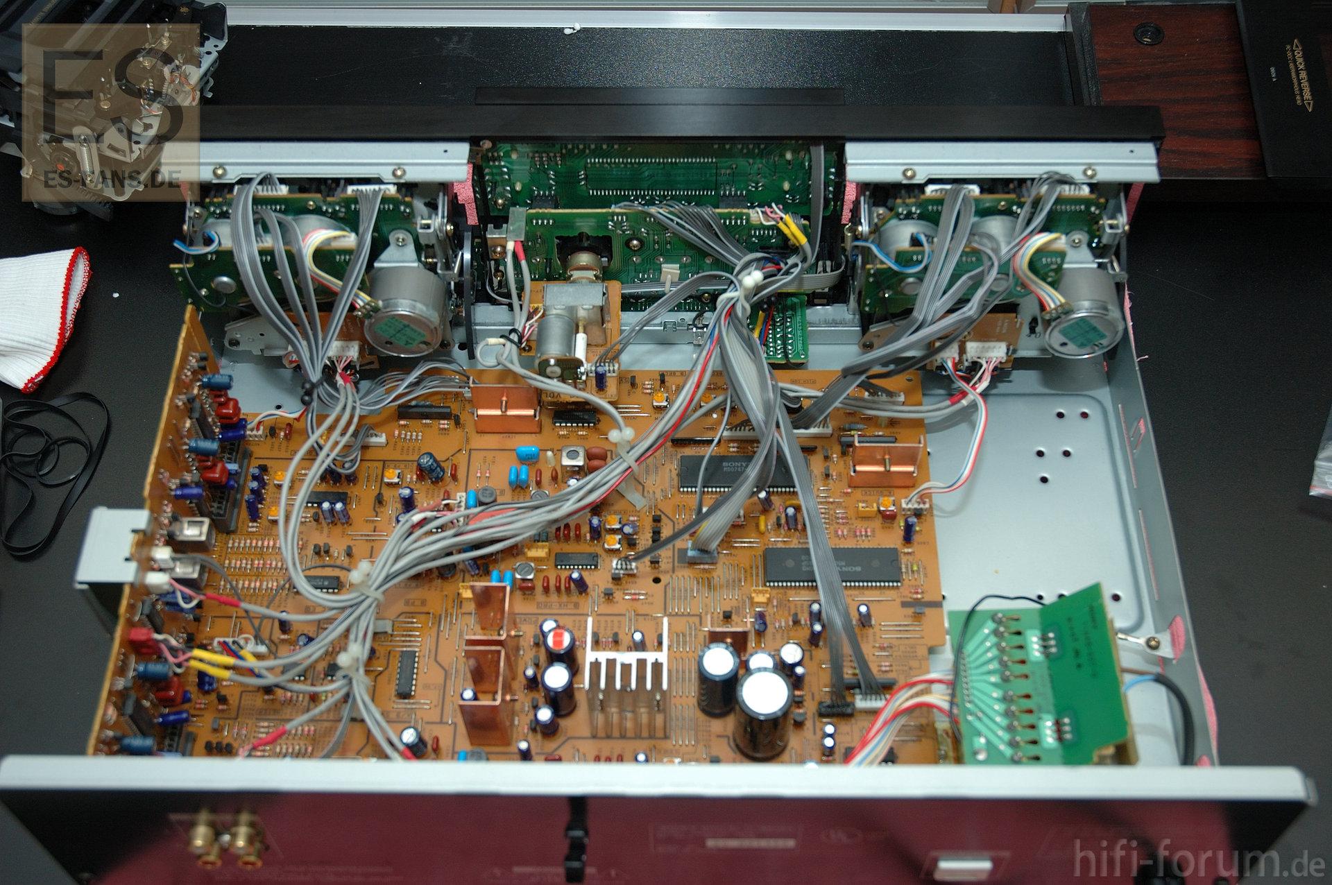 sony tc 200 service manual