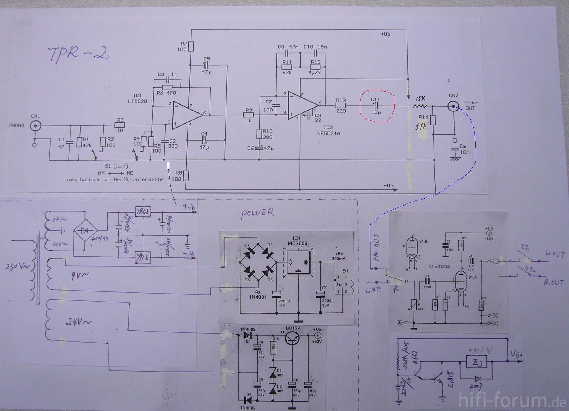 Schaltplan TPR-2 | schaltplan, tpr2 | hifi-forum.de Bildergalerie
