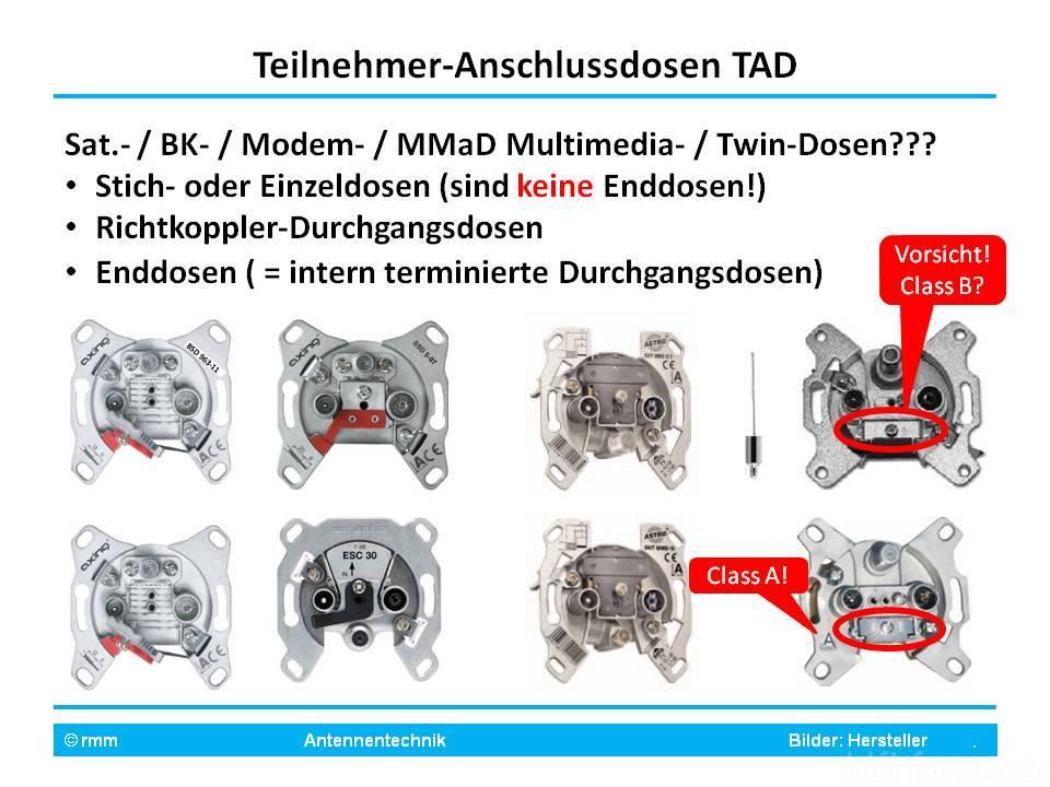 4-fach SAT Dose zum durchschleifen verwenden?, Satellit (DVB-S ...