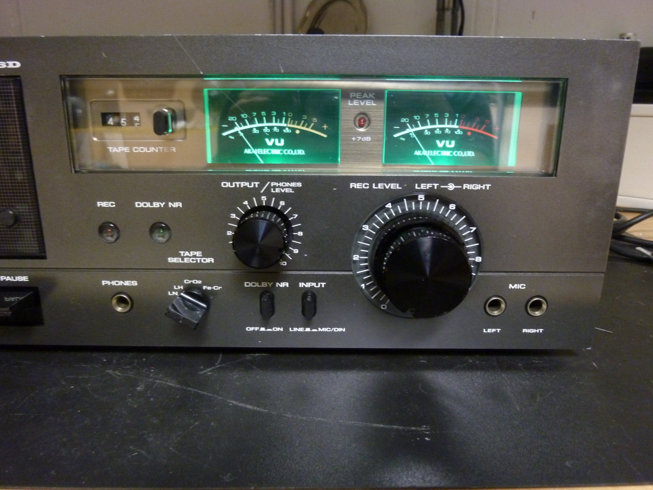 Vu Meter Akai Beleuchtung Vumeter For Power Amplifiers