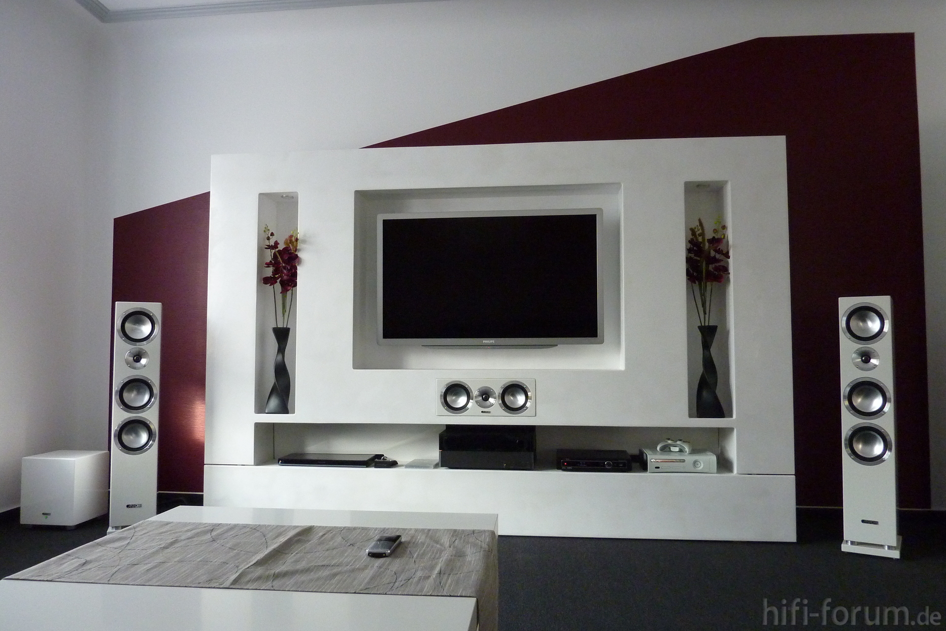 wohnzimmer medienwand bdt310 heimkino medienwand wohnzimmer xbox360 hifi. Black Bedroom Furniture Sets. Home Design Ideas
