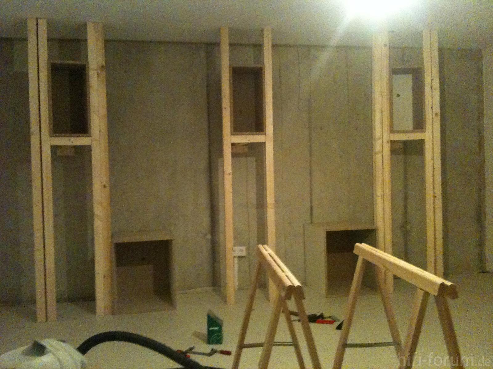 baffle wall gerust 1 205450 hifi bildergalerie. Black Bedroom Furniture Sets. Home Design Ideas