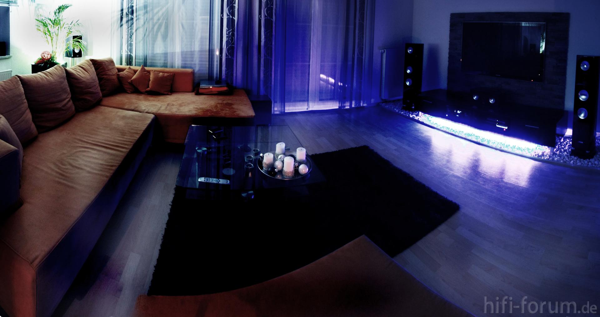 wohnzimmer farbe leicht | farbe, wohnzimmer | hifi-forum.de ... - Wohnzimmer Farbe