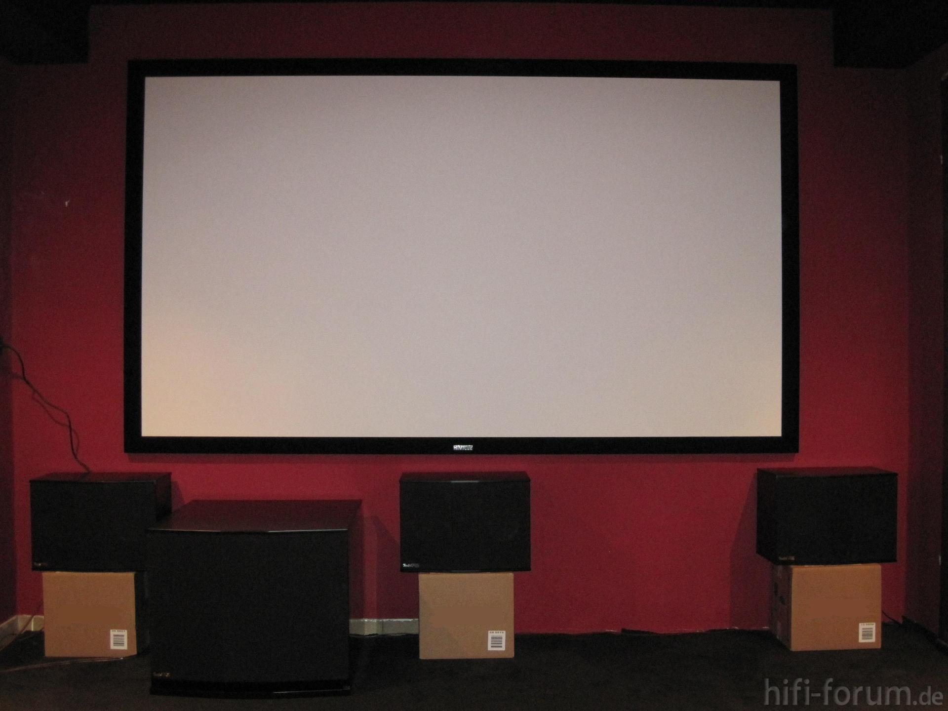 front teufel theater 8 thx ultra 2 front heimkino. Black Bedroom Furniture Sets. Home Design Ideas