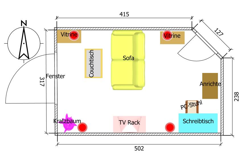 Zimmerplanung  Zimmer Planung Skizze | heimkino, lautsprecher, surround | hifi ...