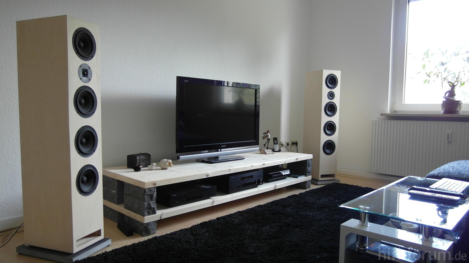 neues wohnzimmer mit sb417 und yamaha sb417 stereo wohnzimmer yamaha hifi. Black Bedroom Furniture Sets. Home Design Ideas