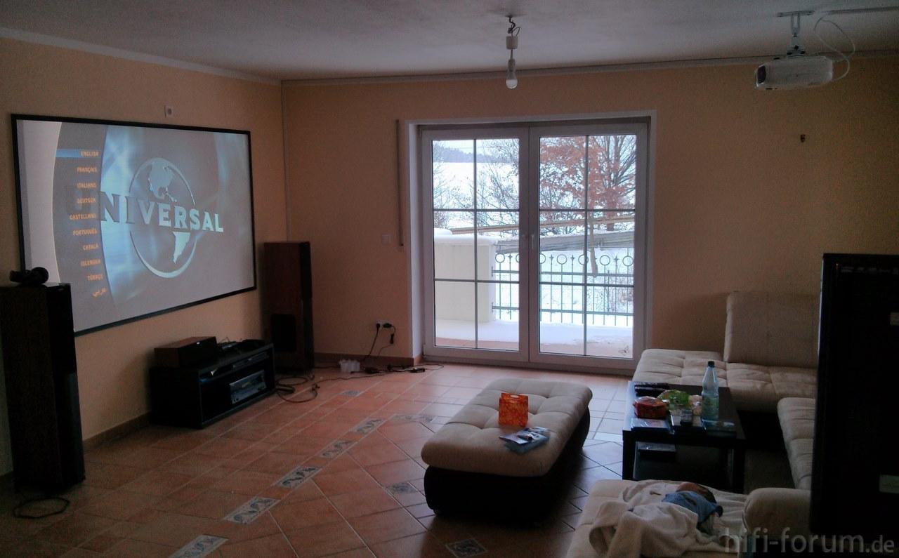Wohnzimmer | beamer, heimkinowohnzimmer, tv, wohnzimmer ...
