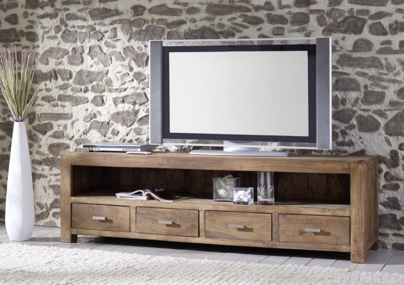 tv lowboard akazie stone akazie lowboard stone tv. Black Bedroom Furniture Sets. Home Design Ideas