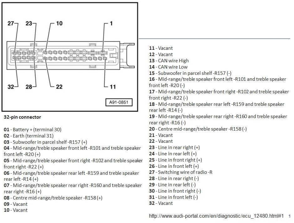 Audi A4 B8/8K mit ASS - Wie Signal fuer FS abgreifen?, Car-Hifi ...