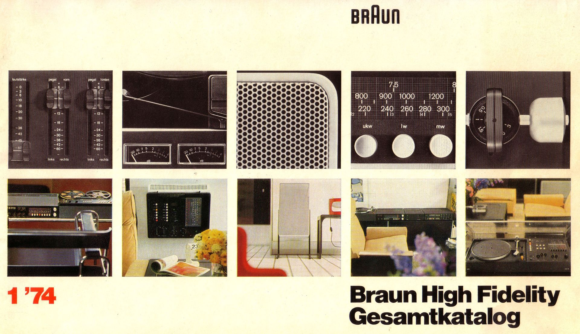 braun prospekt braun prospekt hifi bildergalerie. Black Bedroom Furniture Sets. Home Design Ideas