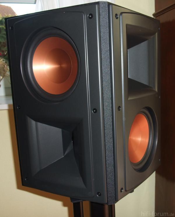 klipsch rs62 mk 2 klipsch mk rs62 hifi bildergalerie. Black Bedroom Furniture Sets. Home Design Ideas