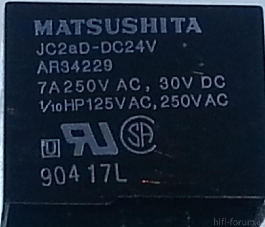 matsushita ar34229 denon maranz sony yamaha hifi bildergalerie. Black Bedroom Furniture Sets. Home Design Ideas