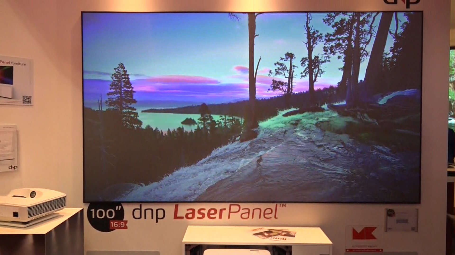 dnp laser beamer mit leinwand beamer dnp laser leinwand hifi bildergalerie. Black Bedroom Furniture Sets. Home Design Ideas