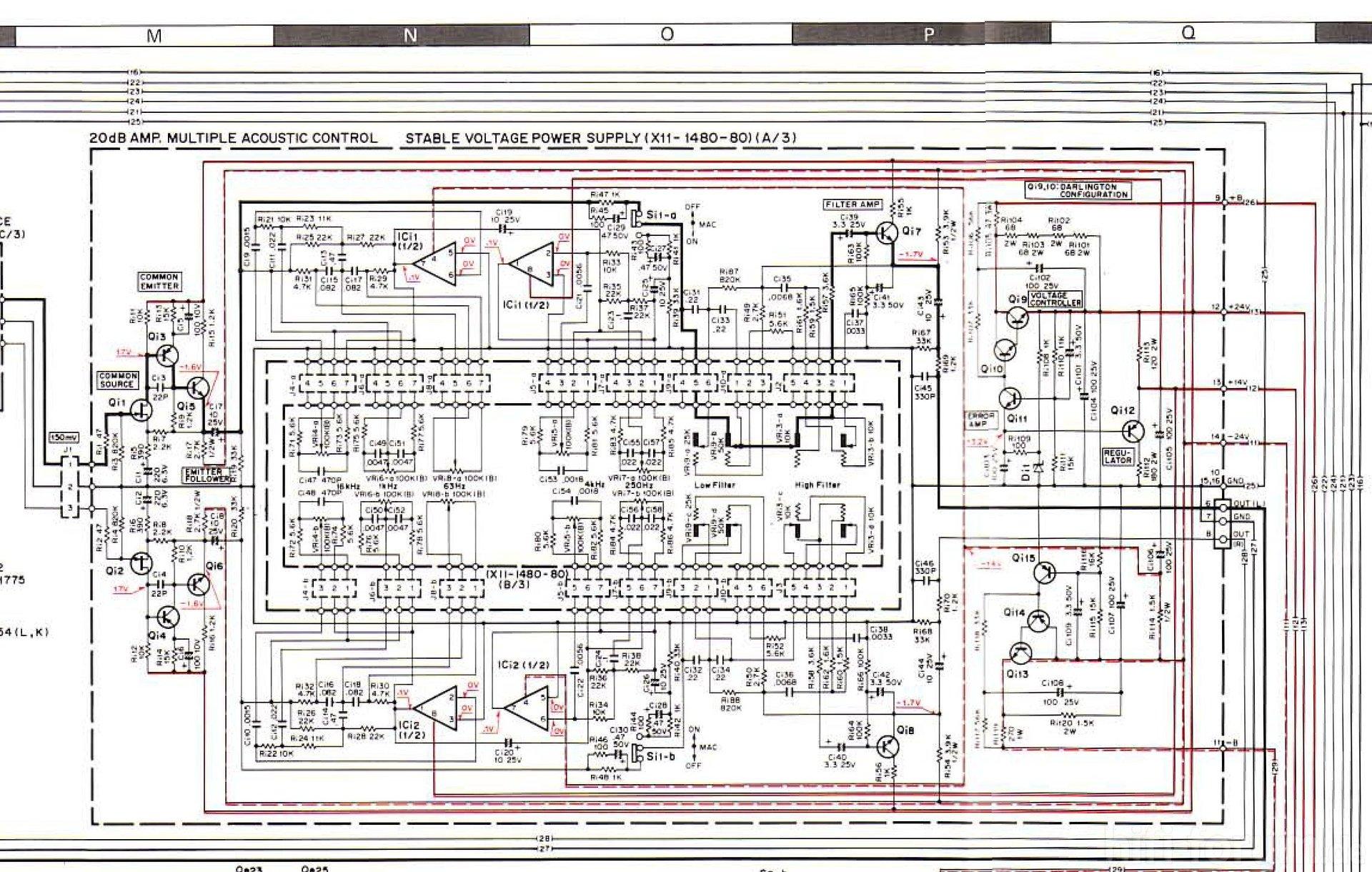 Fantastisch Equalizer System Schaltplan Ideen - Verdrahtungsideen ...