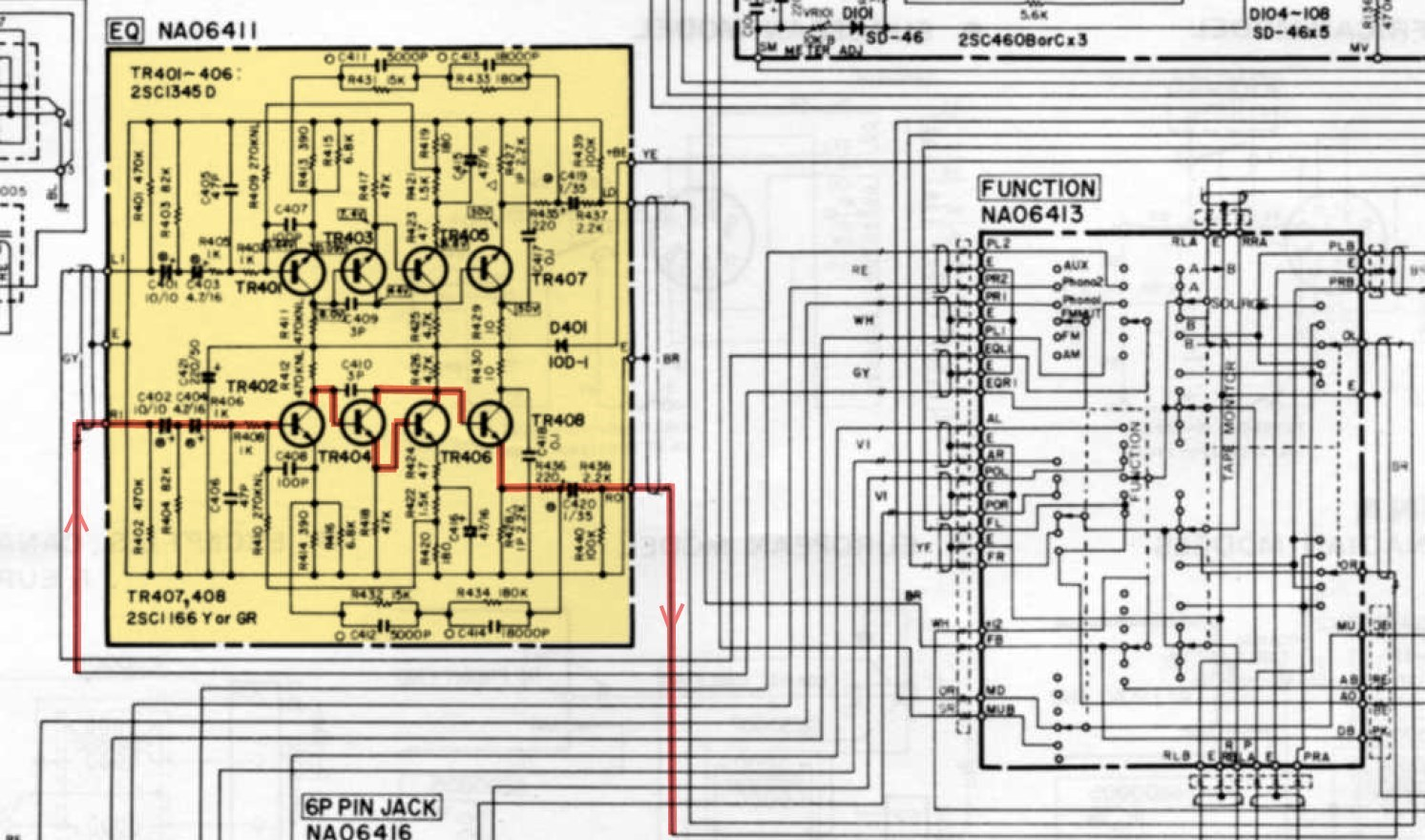 Surprising Yamaha Cr 800 Equalizer Circuit Board Schematic Hifi Forum De Wiring Cloud Brecesaoduqqnet