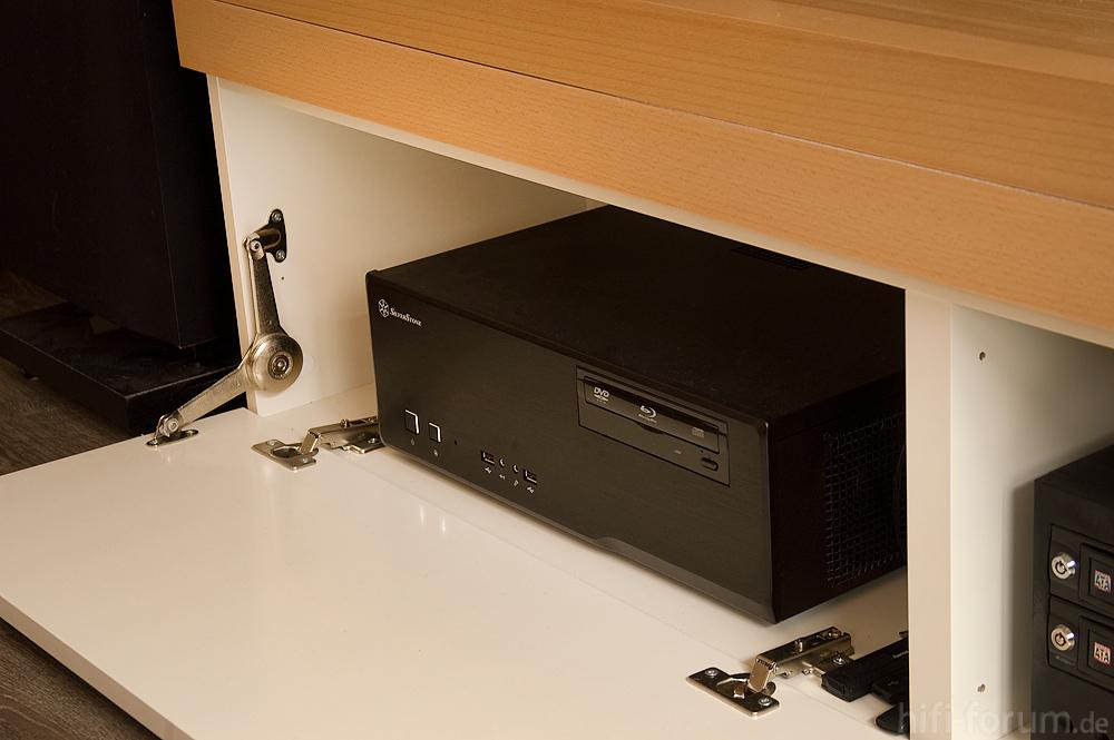 htpc im lowboard heimkino htpc lowboard surround. Black Bedroom Furniture Sets. Home Design Ideas