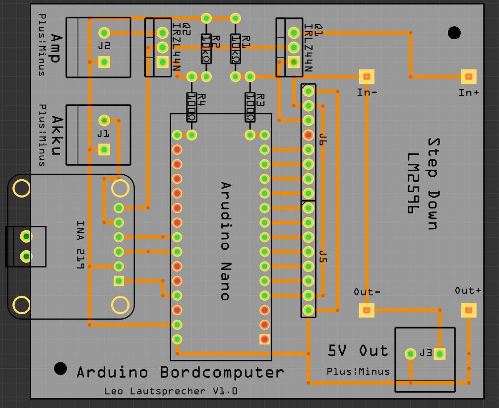 Projekt Kappa - Akkumonitor für mobile Lautsprecher, Sonstiges ...