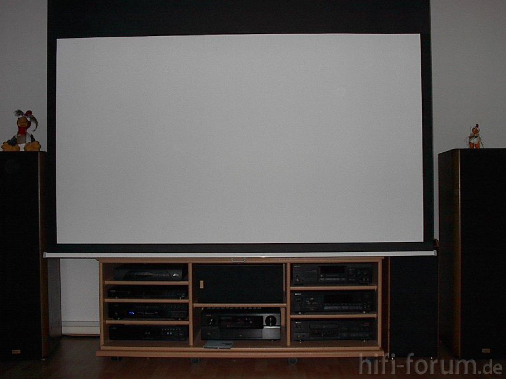 Leinwand leinwand tv hifi bildergalerie - Beamer leinwand selbstbau ...