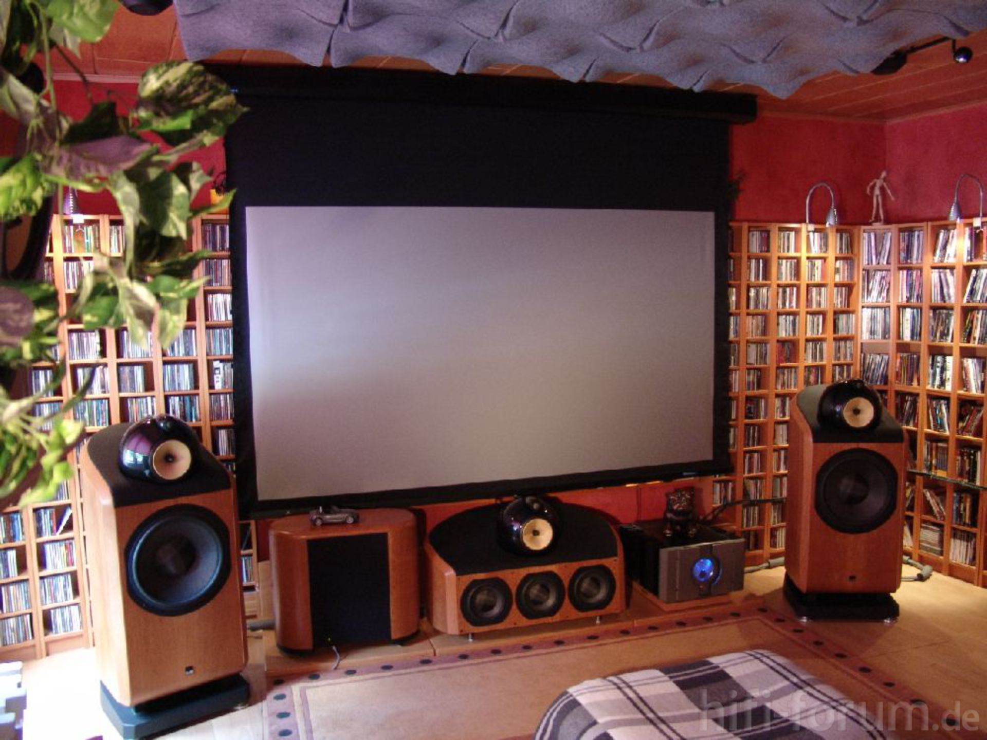 homecinema front front heimkino homecinema surround hifi bildergalerie. Black Bedroom Furniture Sets. Home Design Ideas