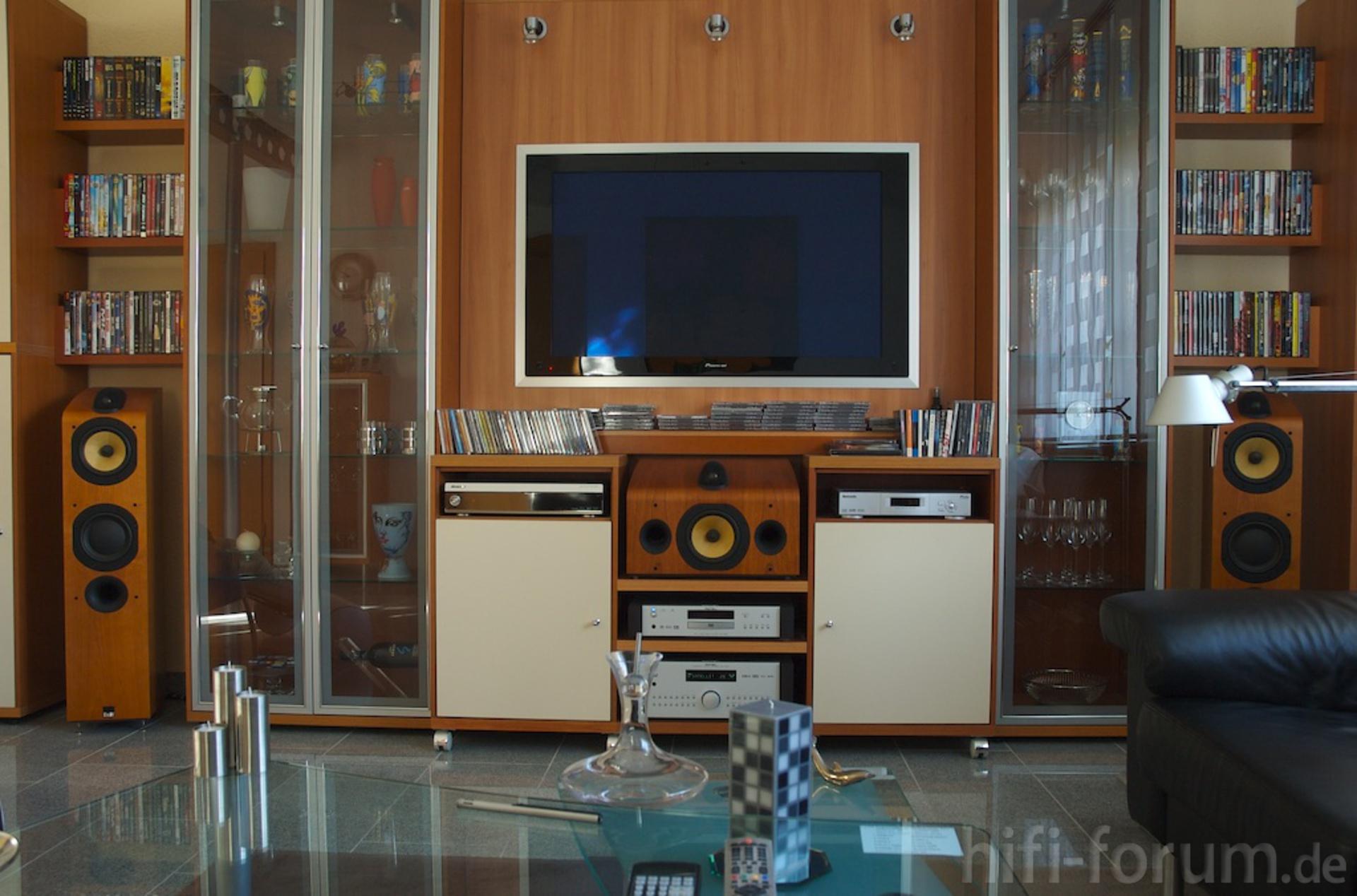 b w rotel und pioneer meets h lsta now no 2 heimkino. Black Bedroom Furniture Sets. Home Design Ideas