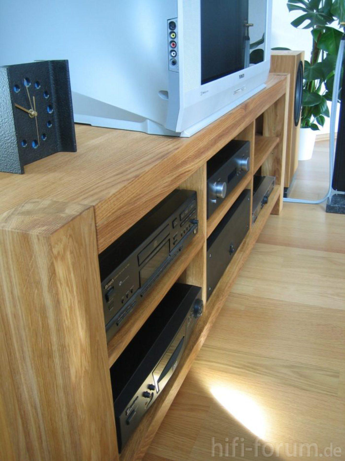 sideboard eiche echtholz do it yourself hifi bildergalerie. Black Bedroom Furniture Sets. Home Design Ideas
