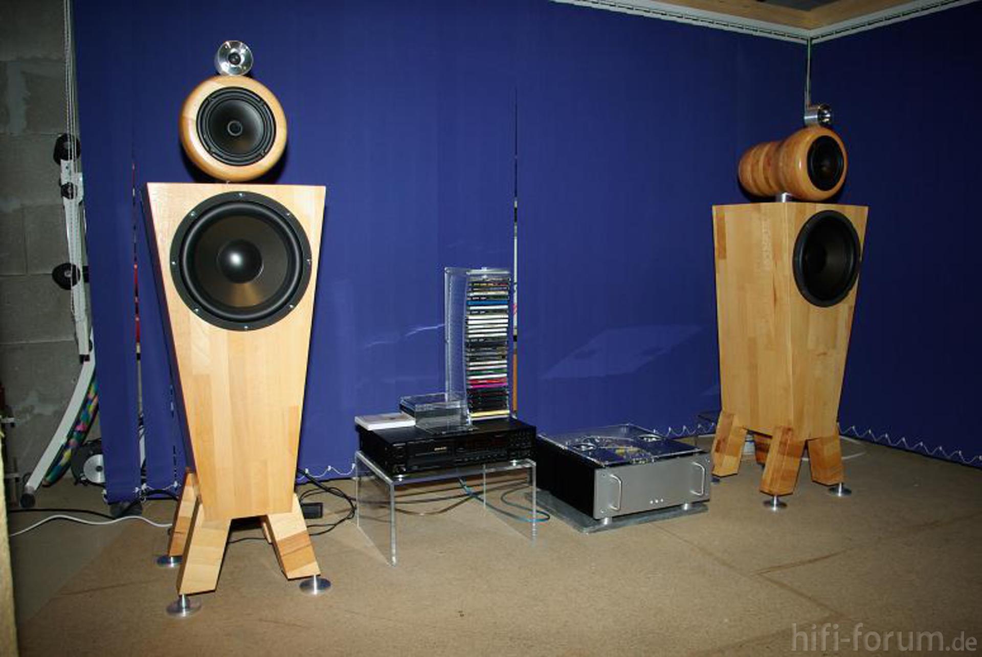 kreativ lautsprecherboxen stereo hifi. Black Bedroom Furniture Sets. Home Design Ideas