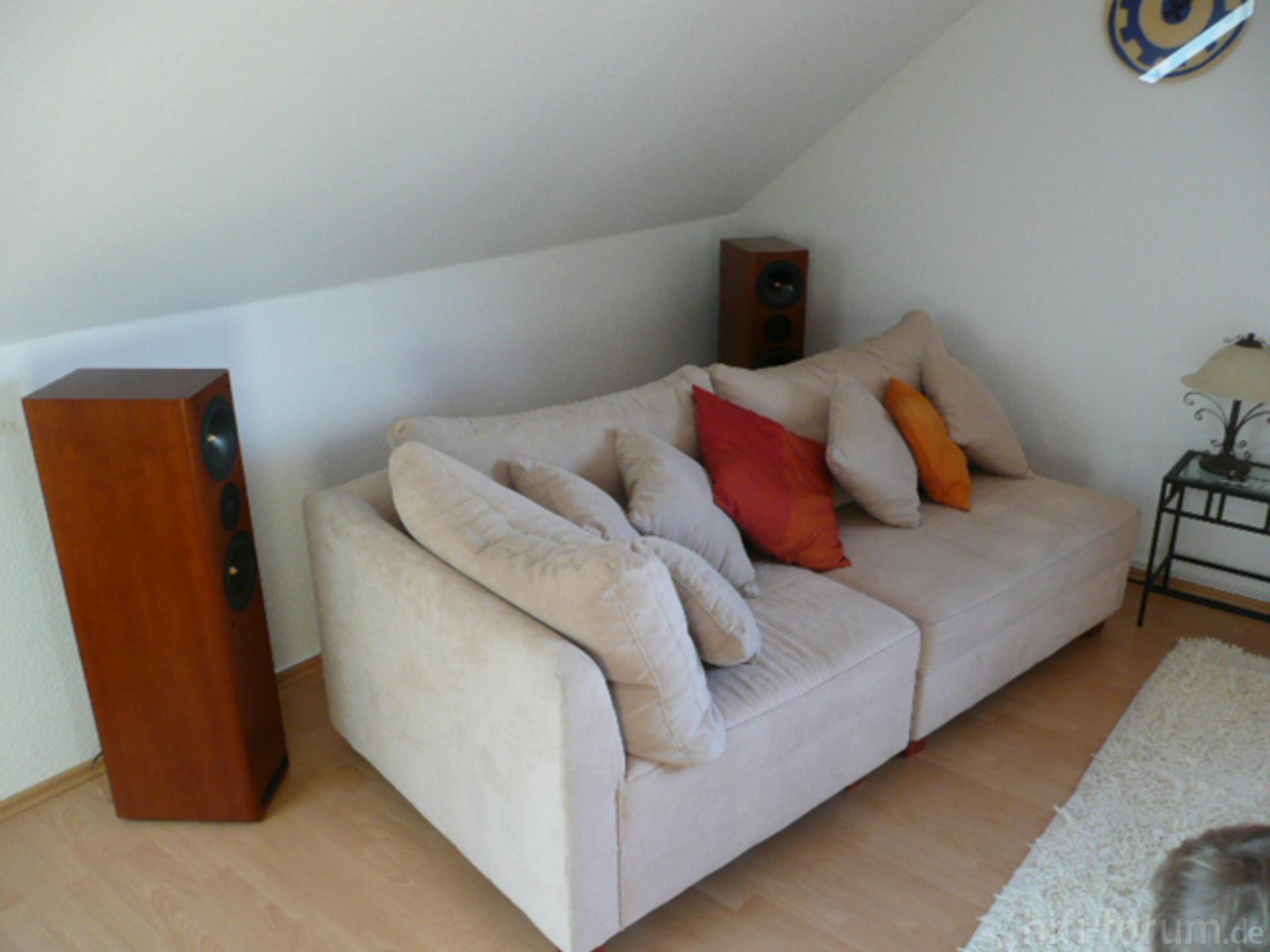 Mein neues Wohnzimmer! Hinten | asw, cantius, heimkino, surround ...