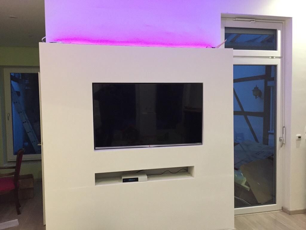 tv wand tv wand hifi bildergalerie. Black Bedroom Furniture Sets. Home Design Ideas
