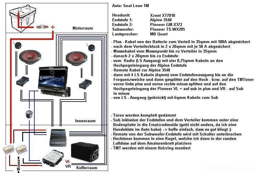 Ziemlich Verkabelung Auto Audio Galerie - Elektrische Schaltplan ...